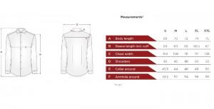پیراهن جعبه ای مردانه ادموند طرح ساده صورتی روشن-تصویر 4