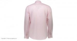 پیراهن جعبه ای مردانه ادموند طرح ساده صورتی روشن-تصویر 5