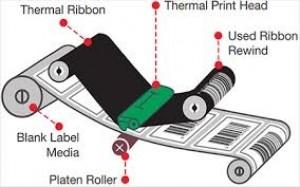 ریبون وکس لیبل پرینترThermal Transfer WAX Ribbon-تصویر 4