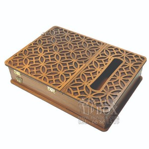 جعبه پذیرایی جعبه دستمال کاغذی جعبه دمنوش کد LB17 - 01-تصویر 4