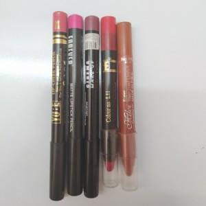 پک رژ لب مدادی کد 812 شامل 4 عدد رژ لب مدادی-تصویر 2