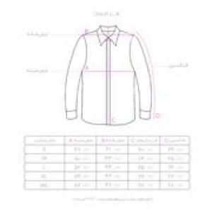 پیراهن سفید سایز S-تصویر 2