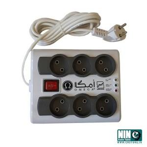 محافظ و چند راهی برق امگا مدلP6000