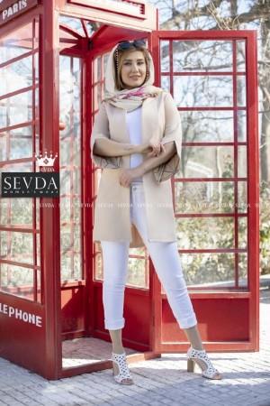 مانتو کتی جدید زنانه مدل رز-تصویر 3