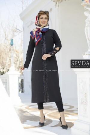 مانتو مازراتی جدید زنانه مدل آنیسا-تصویر 2