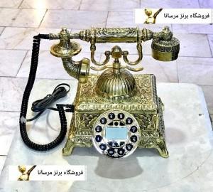 تلفن رومیزی برنز