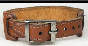 دستبندچرم۷جواهراصل-تصویر 2