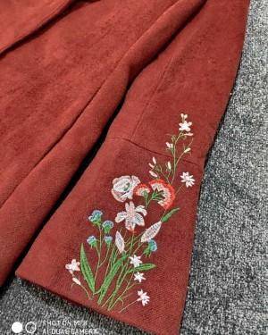 کت نمدی گلدوزی شده-تصویر 2