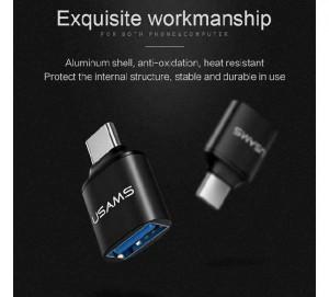مبدل USB به USB-C یوسمز مدل US-SJ175-تصویر 3