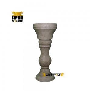 روشویی سنگی تک پایه کد 0047