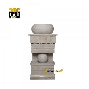 روشویی سنگی تک پایه کد 0035