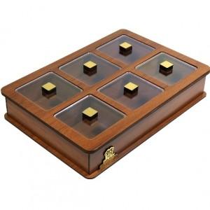جعبه پذیرایی و شکلات خوری لوکس باکس مدل LB11