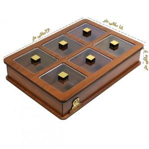 جعبه پذیرایی و شکلات خوری لوکس باکس مدل LB11-تصویر 4