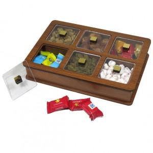 جعبه پذیرایی و شکلات خوری لوکس باکس مدل LB11-تصویر 3