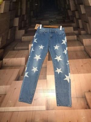 شلوار جین طرح ستاره