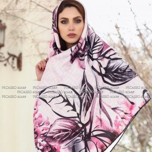 روسری ساتن ابریشم-تصویر 3