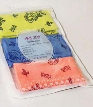 دستمال همه کاره کره ای بسته ۳ عددی-تصویر 2