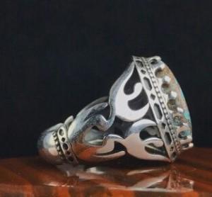 انگشتر فیروزه نیشابور اصلی-تصویر 3