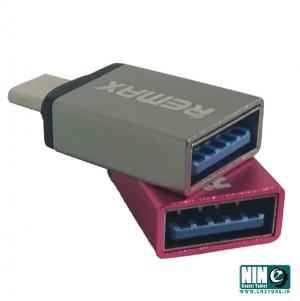 مبدل USB-C به USB OTG مدل ریمکس-تصویر 2