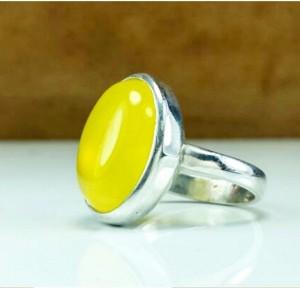 انگشترعقیق زرد-تصویر 2