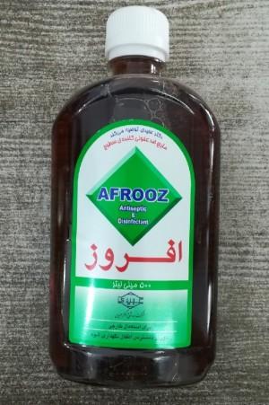 محلول ضد عفونی کننده سطوح افروز 500میل