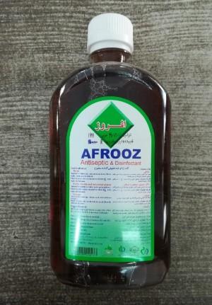 محلول ضد عفونی کننده سطوح افروز 500میل-تصویر 4