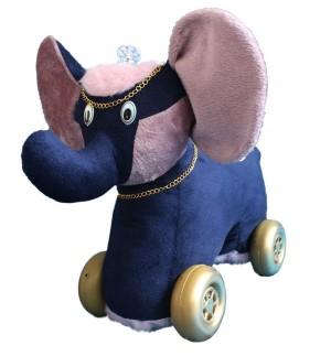 واکر چهارچرخه مدل فیل (موزیکال چراغدار)