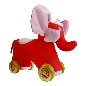 واکر چهارچرخه مدل فیل (موزیکال چراغدار)-تصویر 2