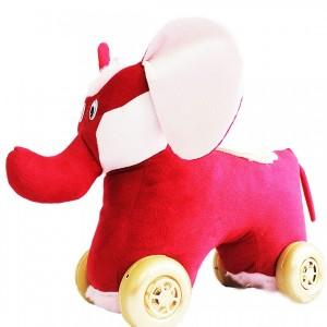 واکر چهارچرخه مدل فیل (موزیکال چراغدار)-تصویر 3