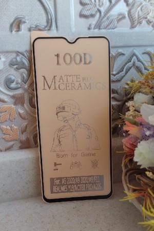 گلس    MATTE FILM CERAMICS 100D MI NOTE8 PRO