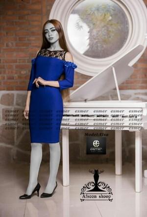 پیراهن زیبا مدل السا ۲-تصویر 2