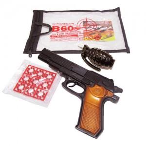 تفنگ اسباب بازی مدل B60-تصویر 2