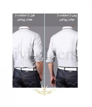 هولدر پیراهن مردانه مدل دبلیو W ( سه بنده پیراهن )-تصویر 3