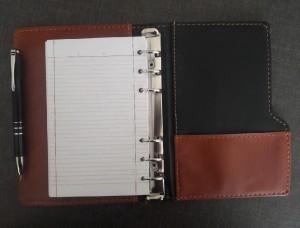 دفترچه کلاسوری چرم-تصویر 4