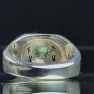 انگشتر موزانایت اصلی (الماس روسی)-تصویر 4
