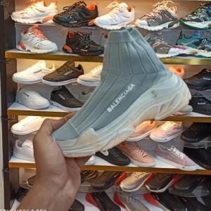 کفش کتانی جورابی ساقدار بالنسیاگا-تصویر 3