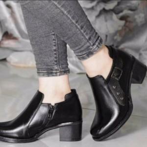کفش کارمندی بسیار شیک چرم صنعتی درجه یک Pam