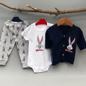 سه تیکه نوزادی Rabit-تصویر 2