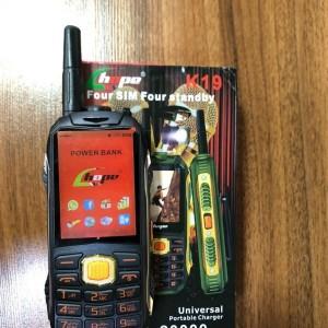 گوشی چهار سیم کارت هوپ k19
