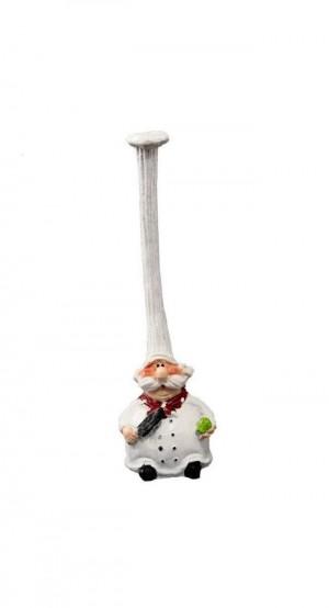 مجسمه دکوری سر آشپز مجموعه 4عددی-تصویر 4