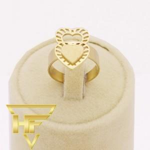 انگشتر طلایی استیل-تصویر 2