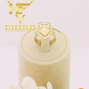 انگشتر طلایی استیل