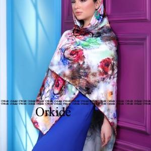 روسری ابریشم فاستونی دیجیتال 166-28