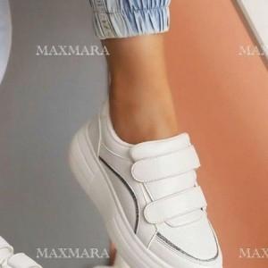 کفش کتانی اسپورت دو چسب سایه لمه-تصویر 5