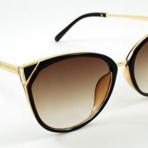 عینک آفتابی زنانه مدل65321 همراه با دستبند زیبا-تصویر 2