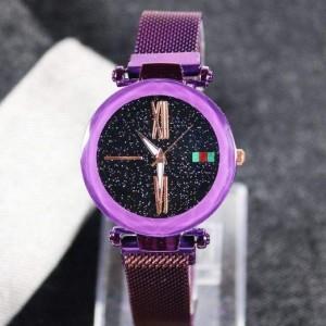 ساعت مچی عقربه ای زنانه کد 5 2 همراه با دستبند زیبا-تصویر 3
