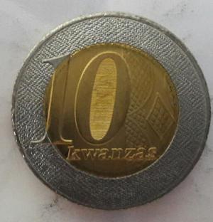 سکه ۱۰ کوانزاس آنگولا