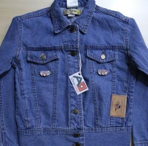 کت کوتاه جین سنگدوزی شده