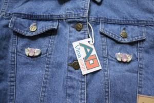 کت کوتاه جین سنگدوزی شده-تصویر 3