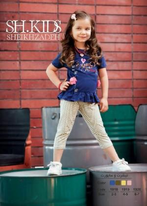 تیشرت وساپورت دخترانه-تصویر 3